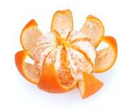 Mogna smakliga tangerines med peelen Fotografering för Bildbyråer