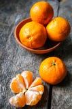 Mogna tangerinfrukter Royaltyfri Foto