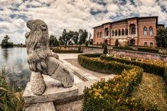 MogoÈ™oaia Palace in Romania royalty free stock image