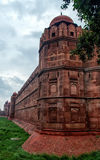 Mogoł architektury szczegół CZERWONY fort, New Delhi, India Zdjęcia Royalty Free