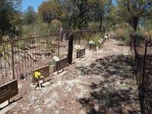 Mogollon Cemetery Stock Photography