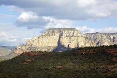 Mogollon rim. A scenic view of the mogollon rim from boynton canyon vista near sedona arizona Royalty Free Stock Photo