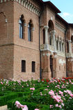 Mogosoaia宫殿细节 免版税库存照片