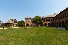 Mogosoaia Palace. Interior court view of Mogosoaia Palace, near Bucharest, Romania Royalty Free Stock Photos