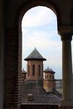 Mogosoaia Palace. Detail from Mogosoaia Palace from Bucharest Stock Photo