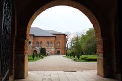 Mogosoaia Palace. Detail from Mogosoaia Palace from Bucharest Stock Photos
