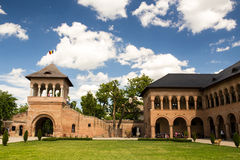 Mogosoaia palace Royalty Free Stock Photos