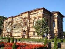 Mogosoaia Palace near Bucharest, while being resto Stock Image