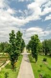 Mogosoaia Palace Park Royalty Free Stock Photo