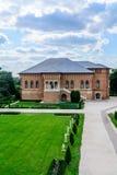 MOGOSOAIA, ROMÊNIA - 29 de setembro: Palácio de Mogosoaia em setembro Fotografia de Stock Royalty Free