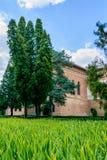 MOGOSOAIA, ROMÊNIA - 29 de setembro: Palácio de Mogosoaia em setembro Fotos de Stock Royalty Free
