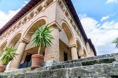 MOGOSOAIA, ROMÊNIA - 29 de setembro: Palácio de Mogosoaia em setembro Imagem de Stock