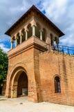 MOGOSOAIA, ROMANIA - 29 settembre: Palazzo di Mogosoaia settembre immagini stock