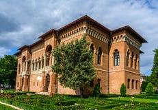 MOGOSOAIA, ROMANIA - 29 settembre: Palazzo di Mogosoaia settembre fotografie stock libere da diritti