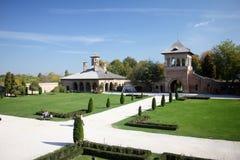 Mogosoaia slott - porten Royaltyfri Fotografi