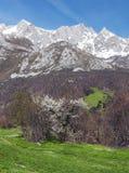 Mogrovejo mountains Stock Image