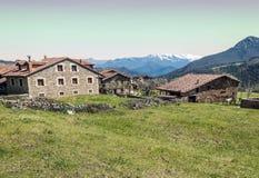 Mogrovejo rural village Stock Images