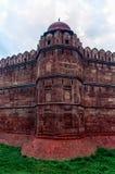 Mogularkitekturdetalj av det RÖDA FORTET, New Delhi, Indien Royaltyfria Foton