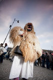 Mohacsi Busojaras carnival Royalty Free Stock Photography