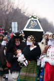 Mohacsi Busojaras carnival Royalty Free Stock Image