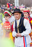 Mohacsi Busojaras karnawał Zdjęcie Royalty Free