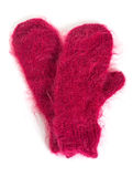 Mohair Mittens Royalty Free Stock Photo
