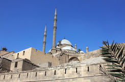Mohamed Ali meczet w Cairo Obraz Royalty Free