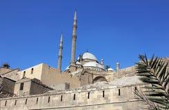 Mohamed ali moské i cairo Royaltyfri Bild