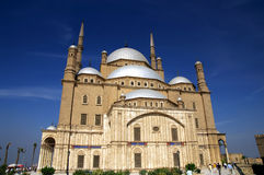 Mohamed Ali mosque. Famous mosque of Mohamed Ali (Muhammad Ali Pasha) at Saladin Citadel of Cairo, Egypt Stock Images