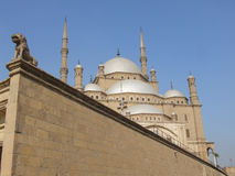 Mohamed ali mosque. Famous mohamed ali mosque in saladeen castle, cairo, egypt Stock Images