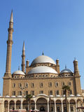 Mohamed ali mosque. Famous mohamed ali mosque in saladeen castle, cairo, egypt Stock Photo