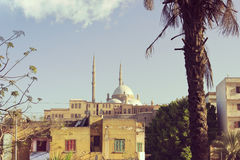 Mohamed Ali mosque in Cairo Egyp royalty free stock photo