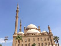 Mohamed Ali Mosque Royalty Free Stock Photos