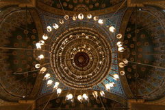 Mohamed Ali Mosque Dome, Saladin Citadel - Cairo, Egypt Stock Images