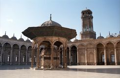 Mohamed Ali Mosque, le Caire, Egypte Photo libre de droits