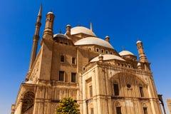 Mohamed Ali Mosque Saladin Citadel av Kairo, Egypten arkivbild