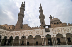 Mohamed Ali Mosque, Saladin Citadel - Cairo, Egypt Royalty Free Stock Image