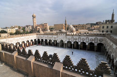 Mohamed Ali Mosque, Saladin Citadel - Cairo, Egypt Royalty Free Stock Images