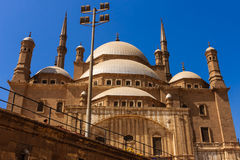 Mohamed Ali Mosque, Saladin Citadel do Cairo, Egito Fotografia de Stock Royalty Free