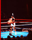 Mohamed Ali v. Leon Spinks fotografía de archivo libre de regalías