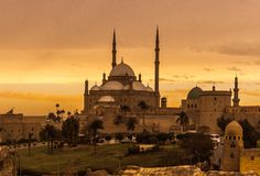 Mohamed Aly Mosque Stock Photography