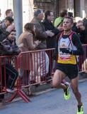 Mohamed Bembarka, Mitja Marato Granollers Photos stock