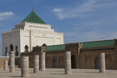 Mohamed V Mausoleum, Rabat Stock Photography