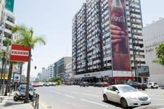 Mohamed Zerktouni Boulevard in Casablanca Stock Photos