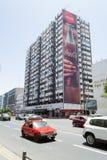 Mohamed Zerktouni Boulevard in Casablanca -portrait- Stock Photos