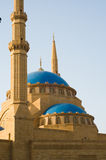 Mohammad Al-Amin Mosque. The Mohammad Al-Amin Mosque in downtown Beirut, Lebanon, built between 2002 and 2007 by the former Lebanese Prime Minister Rafik Hariri Royalty Free Stock Photos