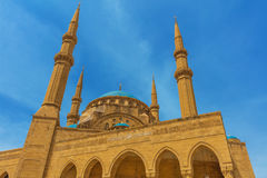 Mohammad Al-Amin Mosque Beirut Lebanon Royalty Free Stock Image