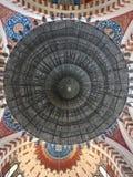 Mohammad Al-Amin Mosque Chandelier, Beirut, Líbano imagen de archivo libre de regalías