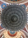Mohammad Al-Amin Mosque Chandelier, Beirute, Líbano imagem de stock royalty free