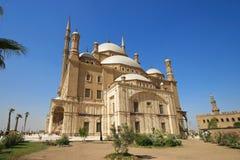 Mohammed Ali Basha moské, Cairo - Egypten Arkivbild